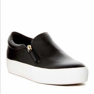 Steve Madden double zipper sneaker